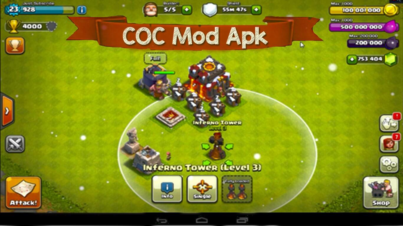 coc hack apk unlimited gems