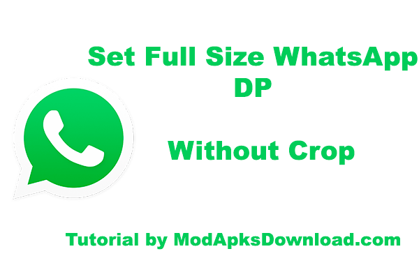 no crop apk for whatsapp