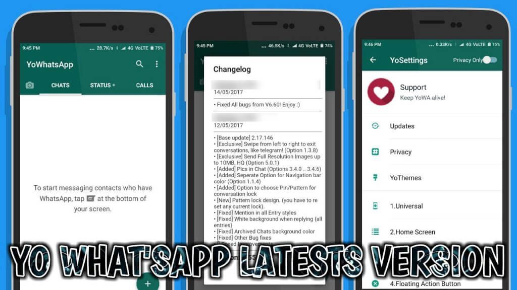 YoWhatsApp Apk 7 50 Latest Version Download (Official)